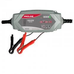 Bilbatteriladdare 12V / 24V, 7A CE PROLINE