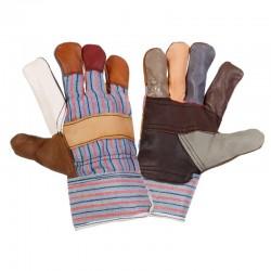 Handskar, möbelskinn och tyg, st.  10, 12par, tyg innuti för bättre komfort, CE, Lahti Pro L27121