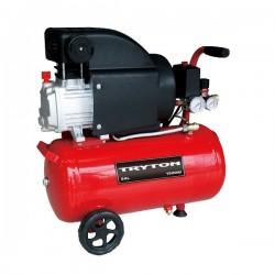 Oljekompressor, 24L, 1500W, 2Hk, 8 bar, 206L/min