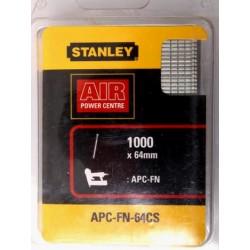 Stiftspik, galvaniserade, för Stanley spikpistol, 64mm, 1000st.