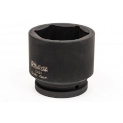 """Krafthylsa, slaghylsa 1"""" 65mm - 105mm, 6-kantig, för hjulnav m.m. CR-MO, Corona Exclusive"""