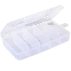 Förvaringsbox, organiser 5 fack 19.8x11.7x4.5 cm