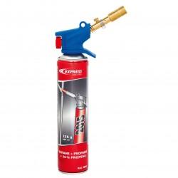 Gasbrännare sats med 2 munstycken, butan/propan