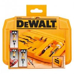 """Borr- och skruvbitssats DeWalt; ¼"""" 10 st. DeWalt DT7612"""