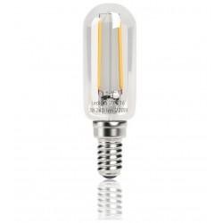 Vintage glödlampor LED E14 2W 240lm, 3000K varmt gulaktigt ljus, 4st