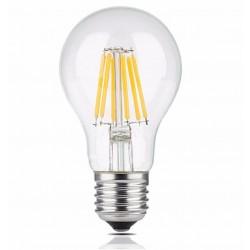 Vintage glödlampor LED E27 6W (motsvarar 60W) 720lm, 2700K varmt gulaktigt ljus, 4st