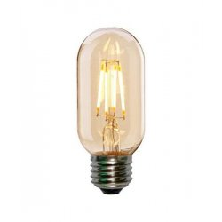 Vintage glödlampor LED E27 T44 4W 360lm, 2500K varmt gulaktigt ljus, 4st