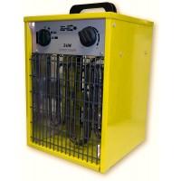 Byggfläkt, värmefläkt 1.5-3 kW 230V