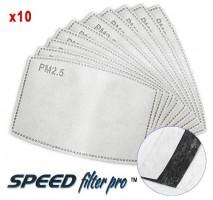 Filter för andningsskydd 10st, skyddar mot virus bakterier m.m. MP 2.5 FFP3 N99 Speed Filter Pro