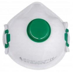 Andningsskydd 1st, andningsmask med ventil, FS-623V FFP2 NR D, CE (minsta order 3st)