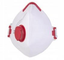 Andningsskydd FFP3 NR-D, CE 1st, andningsmask med ventil, skyddar mot virus bakterier m.m
