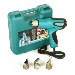 Varmluftspistol 1600W, komplett kit med väska och tillbehör,  Makita HG5012K