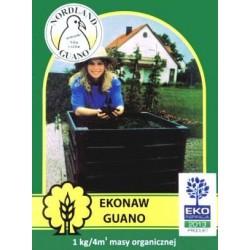 Ekologiskt guano gödsel, komposteringshjälpmedel, 1kg (räcker för upp till 4m3)