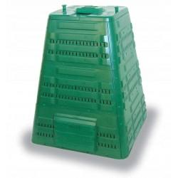 Kompostbehållare 720L, kompostbox för varm kompost utomhus åretrunt, Ekobat Termo