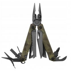 Leatherman Charge® + Black / Camo Fickkniv Multiverktyg inkl. bits