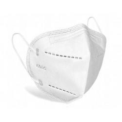 Andningsskydd 1st KN95 FFP2, andningsmask, skyddar mot virus bakterier m.m. CE (minsta order 5st)