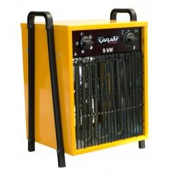 Byggfläkt, värmefläkt 7.5-15 kW 400V, IP44, Xaram