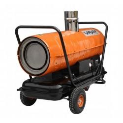 Oljedriven värmefläkt 17.5kW till 58kW, varmluftsfläkt med avgasledning, Xaram