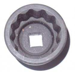 """Hylsa 3/4"""" 37-77 mm 12-kant, krafthylsa"""