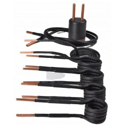 Värmespiraler, spole, induktor för induktionsvärmare, komplett sats, reservspiraler, utbytesspiraler, Magnum