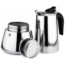 Kaffekokare i rostfritt stål, 600ml
