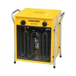 Byggfläkt, värmefläkt 15 kW 400V, IP24, 1700m³/h termostat, Master