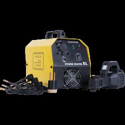 Induktionsvärmare 230V, 800 grader, 3KW 100 kHZ, LED, komplett sats, väska, Magnum Power Heater XL