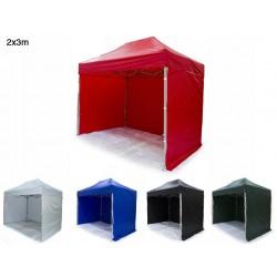 Tält 2x3m H35 Standard - mycket stabil expresstält, tillval för tryck, 4e vägg, dörr, fönster (snabbtält, arbetstält, försäljningstält, eventtält, reklamtält)