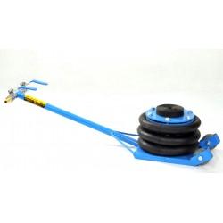 Professionell garagedomkraft, pneumatiskt domkraft med luftkuddar, upp till 2 ton