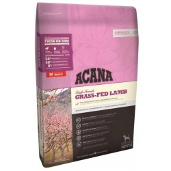 Acana Dog Grass-Fed Lamb 17 kg - ekologiskt hundfoder, 50% kött, lamm